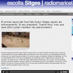 Entrevista a Txema Ruiz, president del CPS sitges (Ràdio Maricel 23/7/2020)