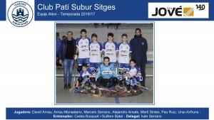 CPS SITGES - Aleví 2016-17 (Casa Jové - Noms jugadors)