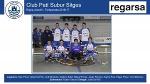 CPS SITGES - Juvenil 2016-17 (Regarsa - Noms jugadors)