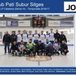 CPS SITGES - Sènior A 2016-17 (Casa Jové - noms jugadors)
