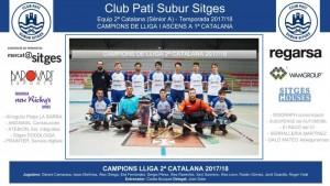 CPS SITGES - Sènior A 2017-18 (Campions Lliga 2ª Catalana 2017-18)