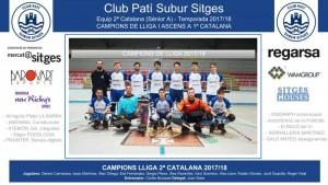CPS SITGES - Sènior A 2017-18 (Campions -Patrocinadors)_