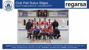 CPS SITGES - Sènior B 2016-17 (Regarsa - Noms jugadors)