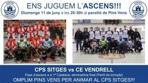 CPS Sitges: fase d'ascens a primera catalana 2016-17
