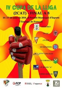 Cartell-final-a-8-copa-lliga-2º-catalana-hoquei-sitges