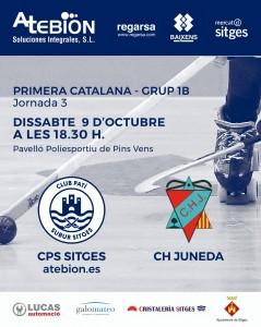 9-10-21: CPS Sitges Vs CH Juneda