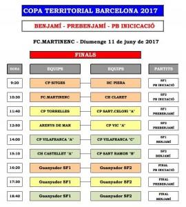 El pb-iniciació del CPS Sitges juga la final a 4 del CPS Sitges (Horaris)